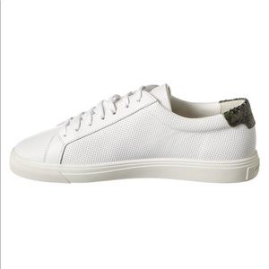 Saint Laurent Andy Perforated Low Top Sneakers